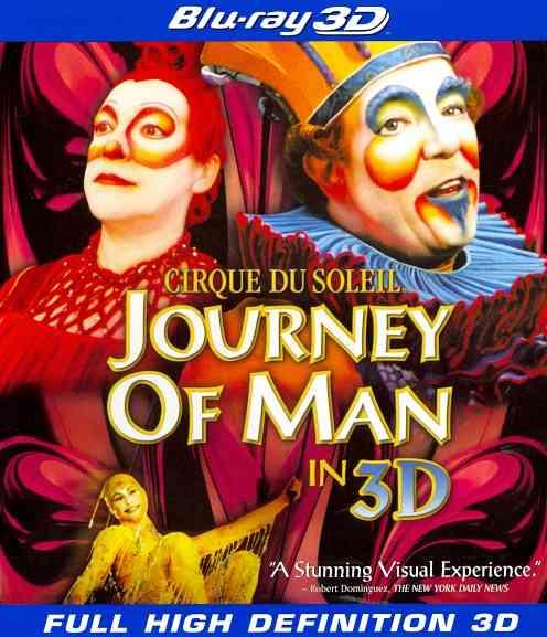CIRQUE DU SOLEIL:JOURNEY OF MAN (3D) BY CIRQUE DU SOLEIL (Blu-Ray)